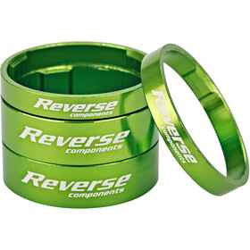 Reverse Ultra Light Set de Espaciadores, green
